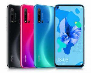الوان هاتف Huawei Nova 5i