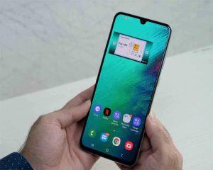 شاشة هاتف Samsung Galaxy A70s
