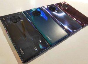 الوان هاتف Huawei Mate 30 Pro