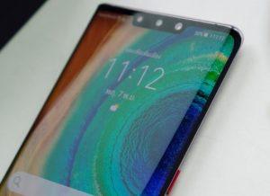 شاشة هاتف Huawei Mate 30 Pro