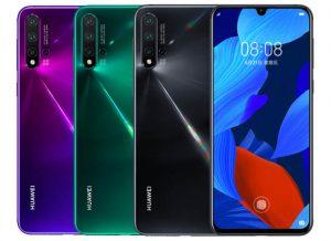 الوان هاتف Huawei Nova 5