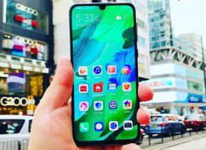 شاشة هاتف Huawei Nova 5