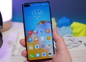 شاشة هاتف Huawei P40