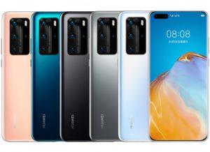 الوان هاتف Huawei P40 Pro