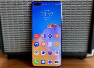 شاشة هاتف Huawei P40 Pro