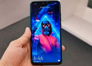 شاشة هاتف Huawei Y8s