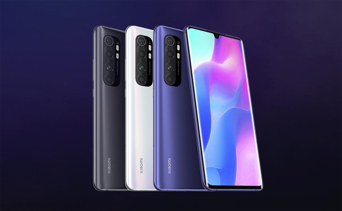 الوان Xiaomi Mi Note 10 Lite