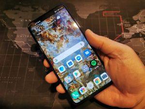 شاشة هاتف Huawei Nova 5T