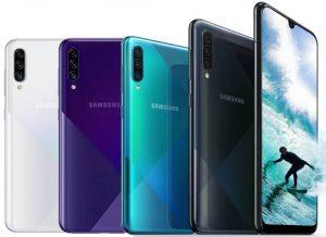 الوان هاتف Samsung Galaxy A30s