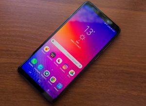الشاشة هاتف Samsung Galaxy A9 2018
