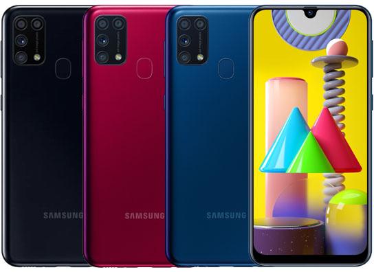 الوان Samsung GalaxyM31