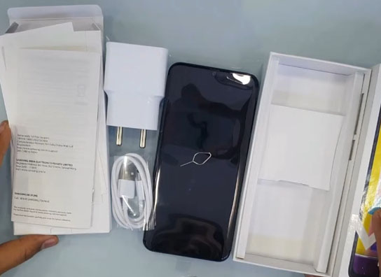 محتويات علبة Samsung Galaxy M31
