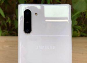 كاميرا هاتف Samsung Galaxy Note 10