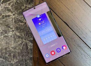 شاشة هاتف Samsung Galaxy Note 10