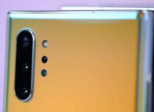 كاميرا هاتف Samsung Galaxy Note 10 Plus
