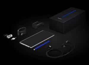 محتويات علبة هاتف Samsung Galaxy Note 10