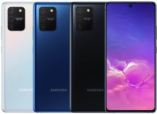 الوان Samsung GalaxyS10 Lite