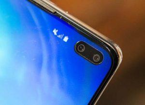 كاميرا هاتف Samsung Galaxy S10 Plus