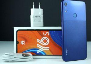 محتويات صندوق هاتف Huawei Y6s