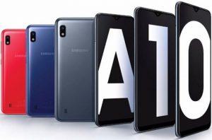 الوان هاتف Samsung Galaxy A10