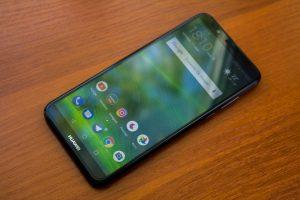 شاشة هاتف Huawei Y7 Prime 2018