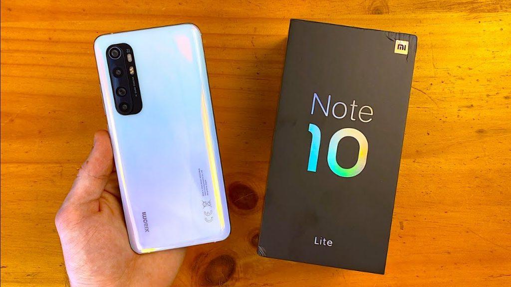 محتويات علبة Note10Lite