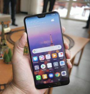 شاشة هاتف Huawei P20 Pro