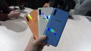 الوان هاتف Samsung Galaxy A70