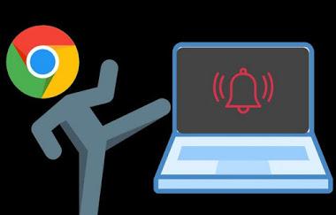 كيفية التخلص من  الإشعارات المضللة في جوجل كروم