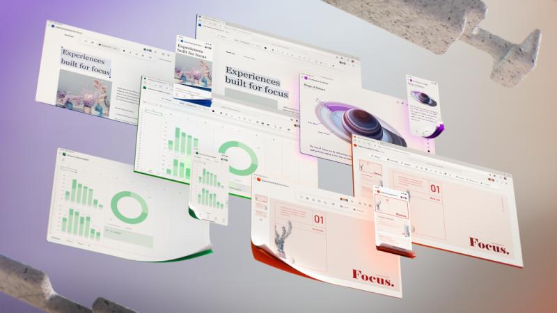 تعلن Microsoft التصميم الجديد لتطبيقات Microsoft 365