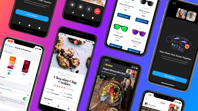 تحديث جديد من ماسنجر يدعم الان مشاركة الشاشة على الهواتف المحمولة