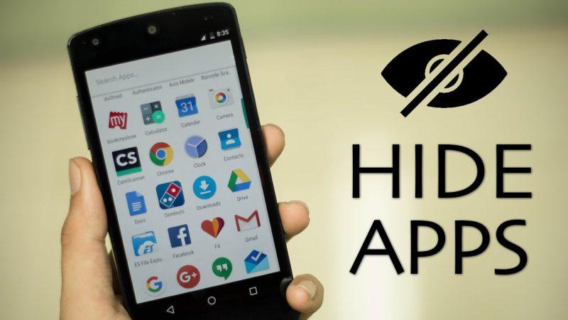 كيف تخفى التطبيقات من شاشة هواتف الاندرويد
