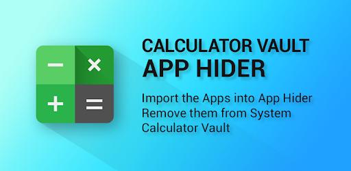 تطبيق الألة الحاسبة (App Hider)
