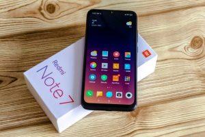 محتويات علبة هاتف Xiaomi Note 7