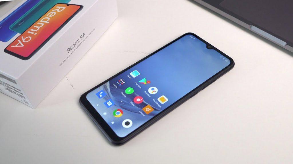 محتويات علبة هاتف Xiaomi Redmi9A