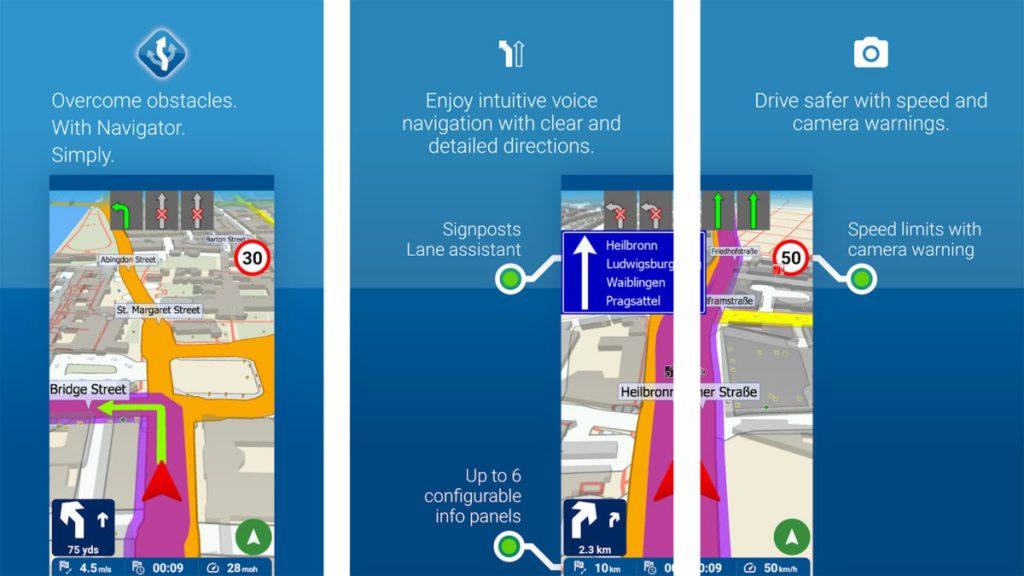 تطبيق MapFactor - تطبيقات خرائط للاندرويد