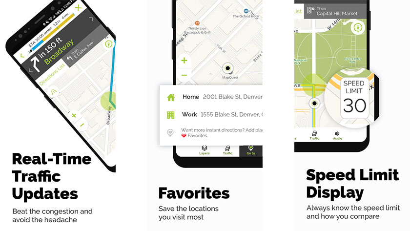 تطبيق MapQuest - تطبيقات خرائط للاندرويد