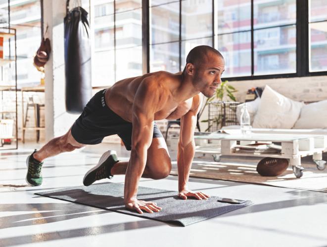 أفضل 5 تطبيقات للتمارين الرياضية وممارسة التدريبات من المنزل