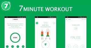 تطبيق 7 Minute Workout
