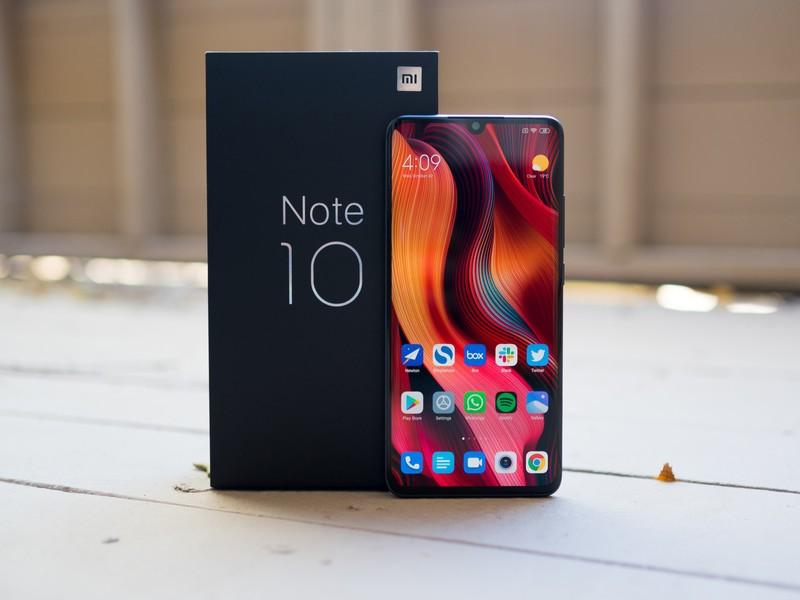 محتويات علبة Note10