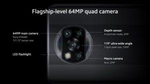 كاميرة Xiaomi Poco X3 NFC