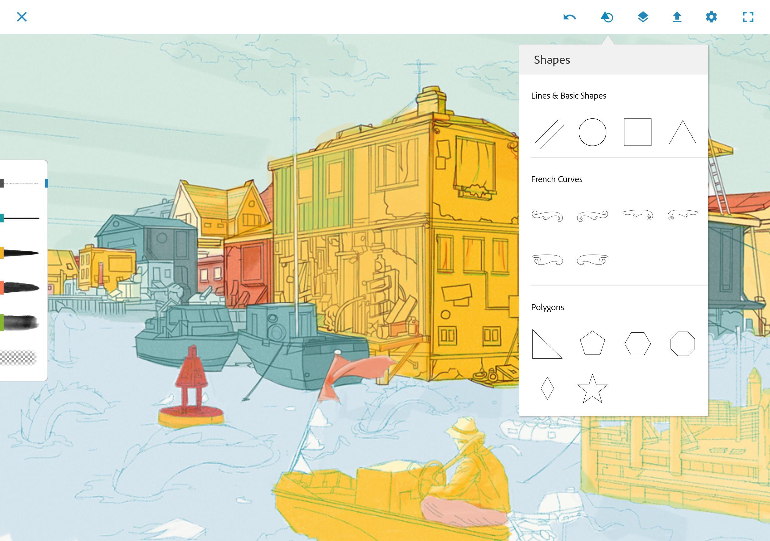 تطبيق Adobe تطبيقات الرسم على الاندرويد و الايفونPhotoshop Sketch