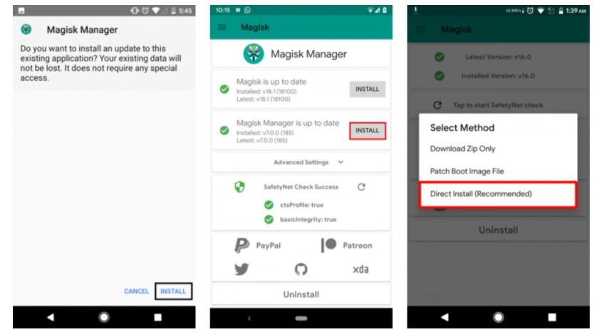 تطبيق Magisk Manager
