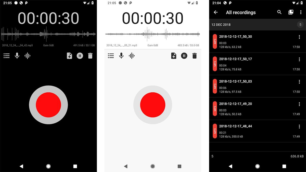 تطبيق ASR Voice Recorder افضل تطبيقات تسجيل الصوت للاندرويد وتحسينه