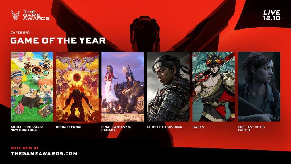 حفل The Game Awards 2021 وجائزة لعبة العام
