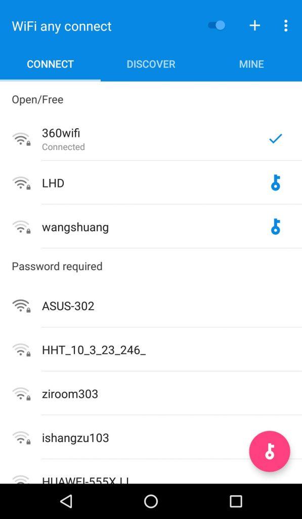 كيفية اضافة شبكة وايفاي مخفية للاندرويد