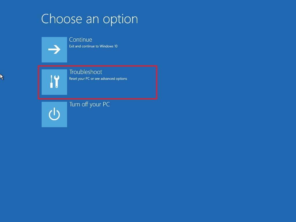 تشغيل الوضع الآمن safe mode في windows 10 في حل مشكلة شاشة سوداء عند تشغيل اللاب توب