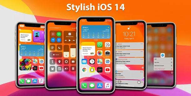 تطبيق Launcher iOS 14