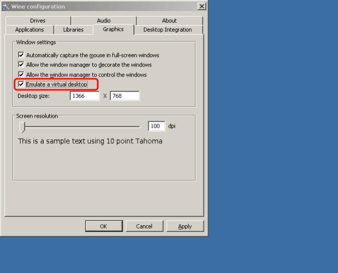حل مشكلة عدم ملء الشاشة في الالعاب ويندوز 7