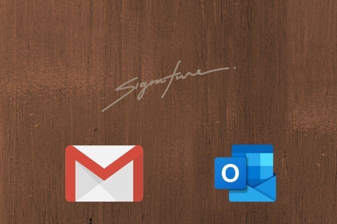 كيفية إنشاء تواقيع الكترونية متعددة في Gmail و Outlook